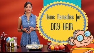 Hair Care - Home Remedies For Dry And Damaged Hair - Get Shiny Soft Hair Naturally