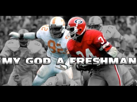 UGA Football: Brain Storm Classic - Herschel Walker runs over Tennessee: 2014