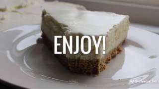 HOW TO MAKE A VANILLA BEAN CHEESECAKE (TGI FRIDAY'S COPYCAT RECIPE) | MY HEAVENLY RECIPES