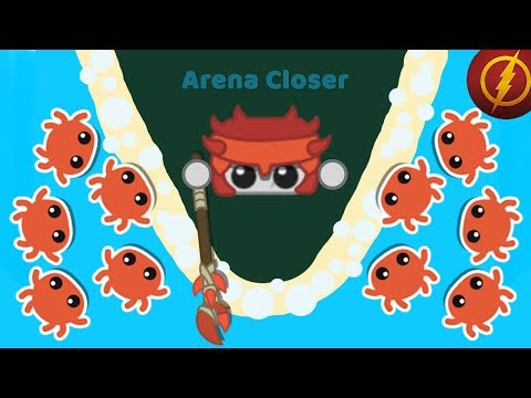 Starve.io - Making Crab Gear + Dragon Gear + Bed / New Update