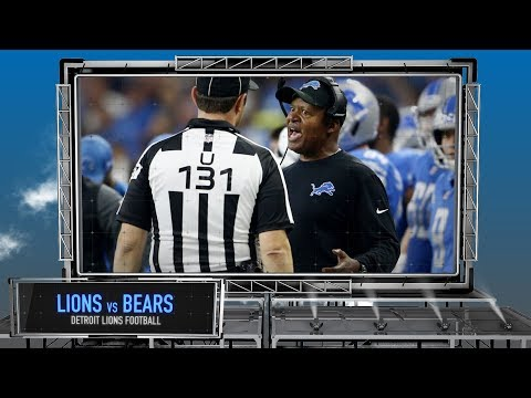 Detroit Lions vs. Chicago Bears Preview - Jim Caldwell Job Security Edition