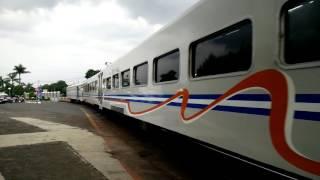 Kereta Api Eksekutif Taksaka Dilangsir untuk Pencucian