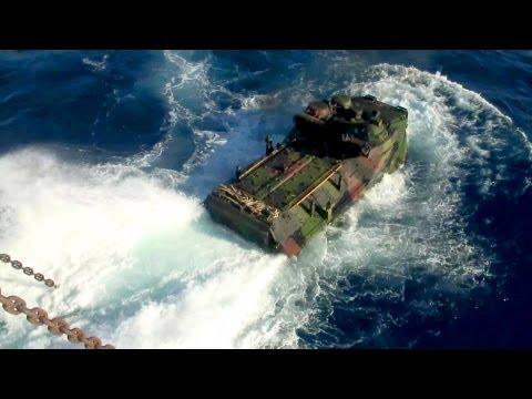 US Marine Corps Amphibious Assault Vehicles