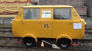 Giornata delle Ferrovie Dimenticate 2012 - Draisina FS C 964
