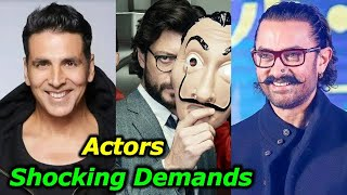 Top 10 Bollywood Actors & Actresses Shocking Demands Before Signing The Film -SalmanKhan,ShilpaShety