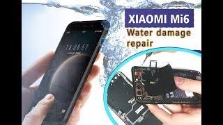 Xiaomi Mi-6 Water Damage Backlight Lcd Repair / ремонт затопленого телефону