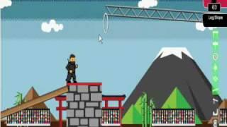 Ninja Warrior Game Stage 1