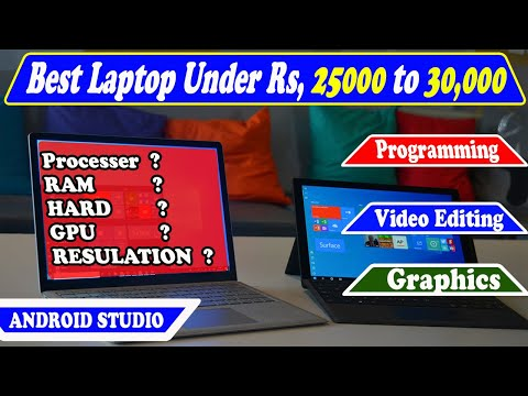 Best Laptop Configuration For Programming , Android Studio & Video Editing In Cheep Price 2020
