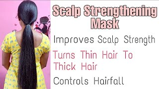 """Use Just """"3 Ingredients"""" to Improve Your Scalp Strength Naturally   DIY Hair Mask  Vini's Hair Care"""