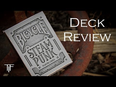 Theory 11 Silver Steampunk Playing Cards - Deck Review