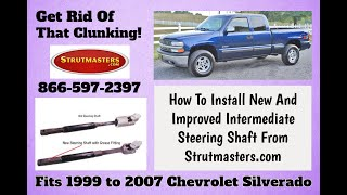 How To replace The Intermediate Steering Shaft On A Chevrolet Silverado