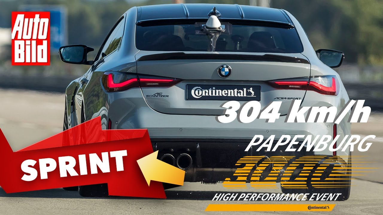 AC Schnitzer BMW M4 Competition (2021) | Mehr als 300 km/h im Über-M4 | Papenburg 3000