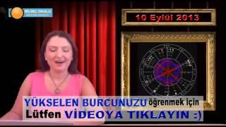 KOVA Burç Yorumu 10 Eylül 2013   Astrolog DEMET BALTACI    , astroloji, astrology