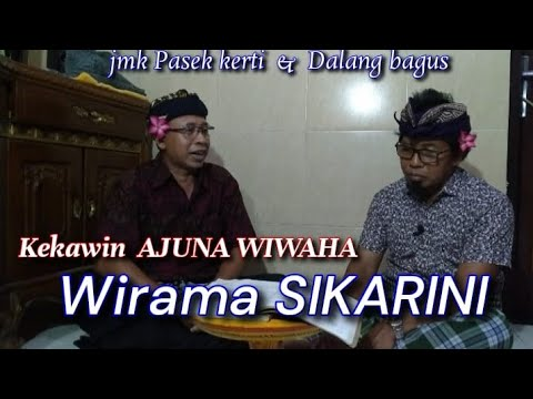 Download kekawin ARJUNA WIWAHA Wirama SIKARINI.