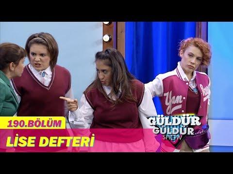 Güldür Güldür Show 190.Bölüm - Lise Defteri