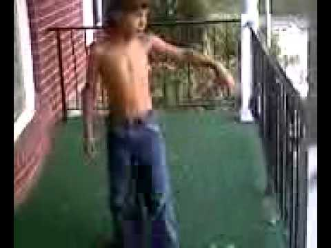 Little Boy Does Hand Stand Youtube