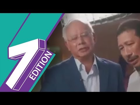 Najib Looses His Cool During Interview