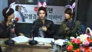 SS501 HyungJun MUSIC HIGH2周年 Special DJ KyuJong & JungMin.