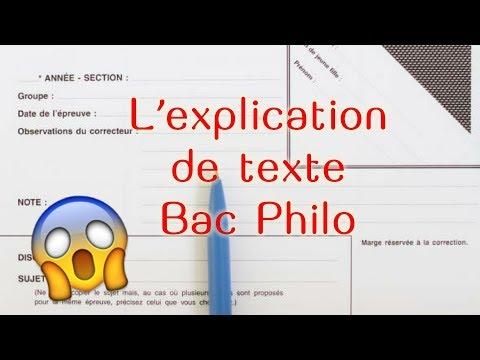 5 astuces pour l'explication de texte au Bac Philo