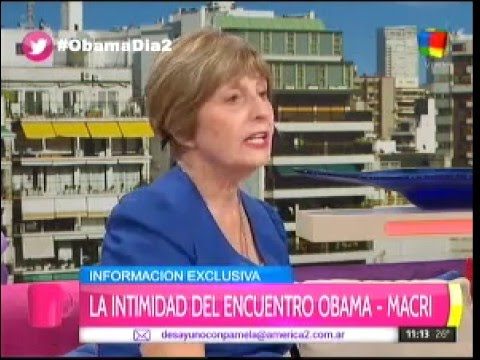María Freytes habló de Obama y se quebró
