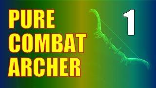 Skyrim Pure Combat Ar¢her Build Walkthrough Part 1: Prison Break (Bound Bow Power Start)