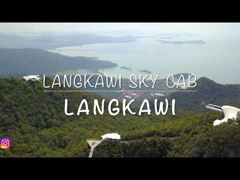 Malaysia - Langkawi Sky Cab l Langkawi Cable Car l [4K]