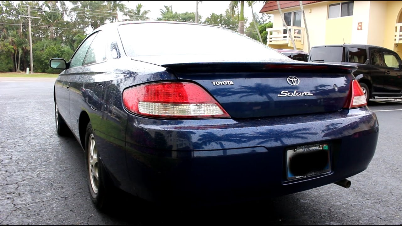 2001 toyota camry solara review youtube. Black Bedroom Furniture Sets. Home Design Ideas