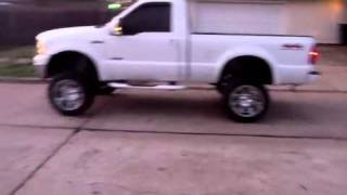 Single Cab Short Bed F250 Side View