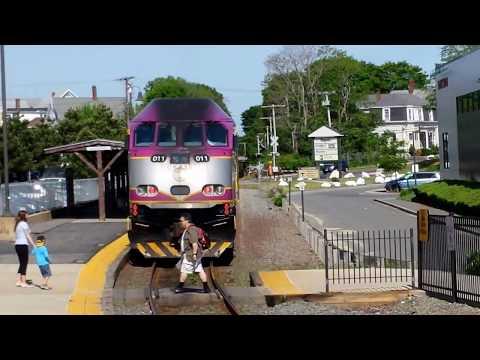MBTA Commuter Rail: Rockport to Boston,Boston to Rockport  GLCT