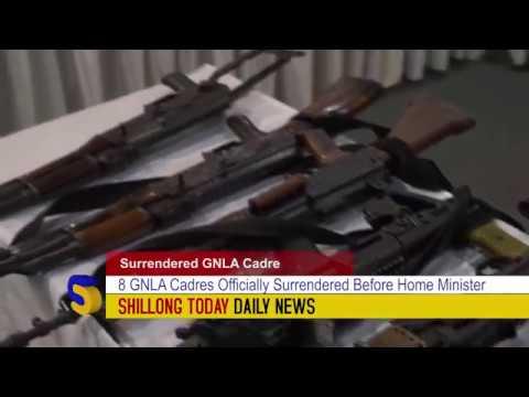 5 GNLA Cadres Surrendered  before Home Minister