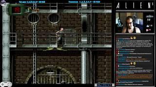 Чужой 3 | Alien 3 прохождение #2 [ Hard ] (U) | Игра на (SNES, 16 bit) Probe LJN 1993 Стрим HD RUS