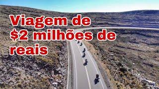 A VIAGEM DE DOIS MILHÕES DE REAIS | VIAGEM DE MOTO NARRADA