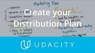 إنشاء خطة التوزيع | قبل | إطلاق التطبيق التسويق | Udacity