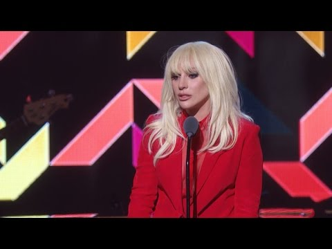 Lady Gaga in Tears Accepting Billboard Women in Music Honor: 'I Just Wanted to Be Taken Seriously'