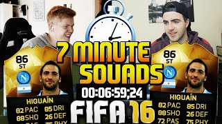 FIFA 16 7 MINUTE SQUAD BUILDER WITH SIF HIGUAIN!! - Speed Squad Builder