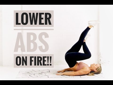LOWER AB Workout // Target Lower BELLY FAT