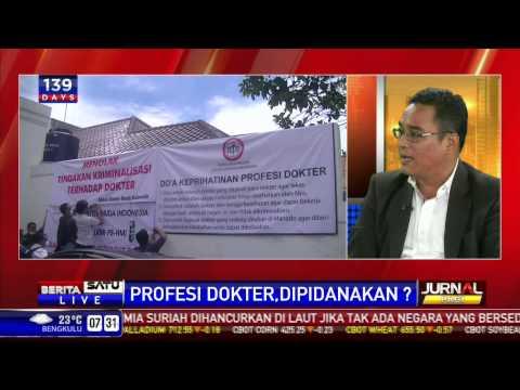 Dialog:  Profesi Dokter, Dipidanakan ?