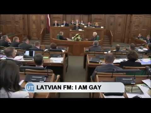 Latvia's FM Comes Out as Gay: Edgars Rinkēvičs tweets 'I proudly announce I'm gay'