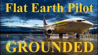 Veteran 737 Pilot grounded for Flat Earth comments - Mark Sargent ✅