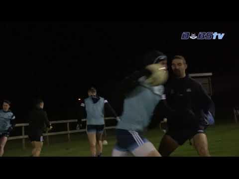 Dublin Senior Footballers in training