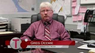 Greg Deemie, Village of Johnson City Mayor