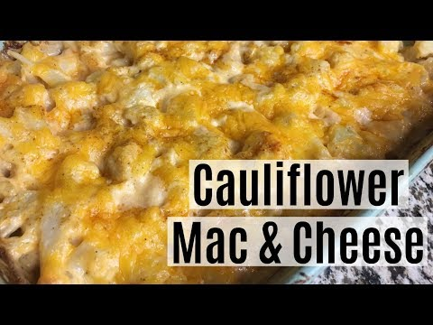 Cauliflower Mac and Cheese (Southern Style) Keto Recipe   Low Carb Side Dish   KETO SOUL FOOD