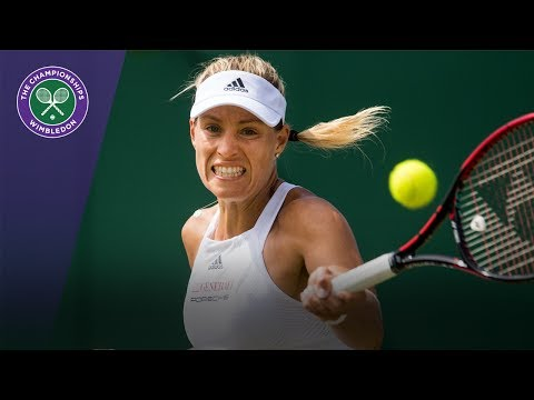 Wimbledon 2017 - Angelique Kerber battles back to beat Shelby Rogers