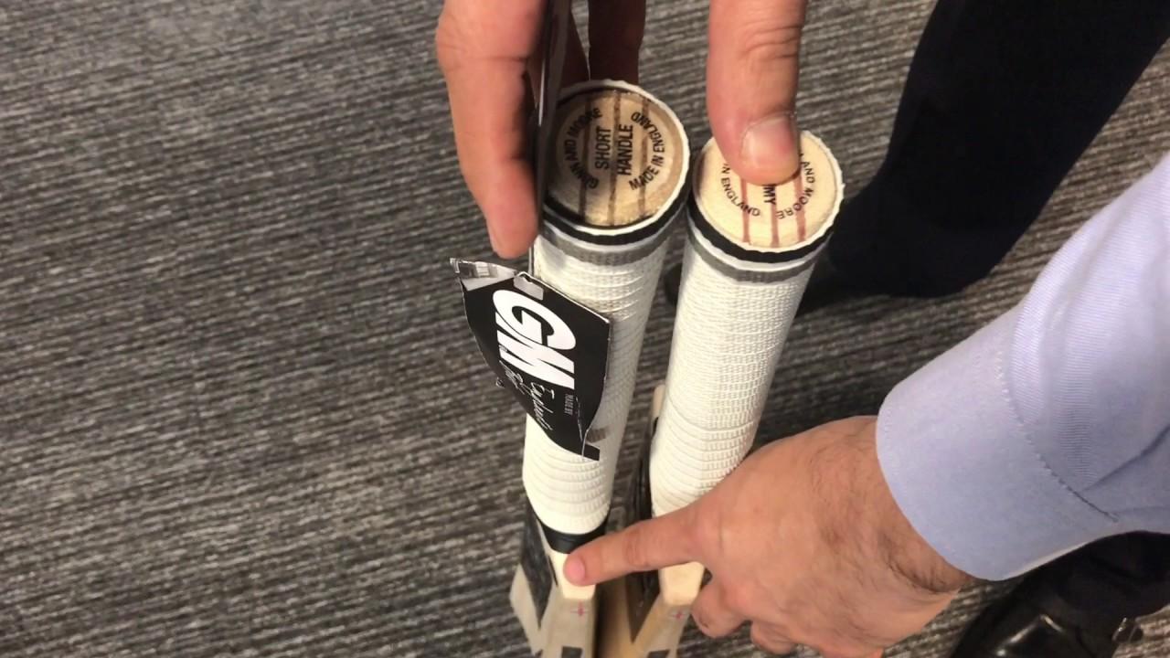 Cricket Bat Sizes From Harrow to Academy and Full Size