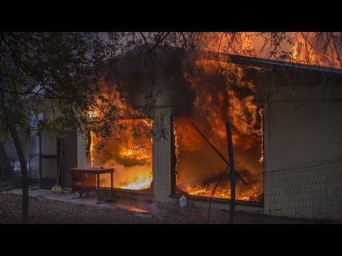 Firefighter dies battling Thomas Fire in Calif.