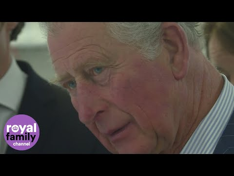 Prince Charles goes green in London
