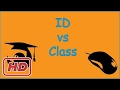 [Javascript Tutorial] css id vs class attributes,  when to use id and when to use class, difference