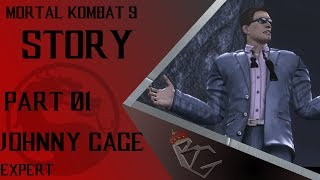 Mortal Kombat 9 Story (Max Difficulty) Part 1 - Johnny Cage