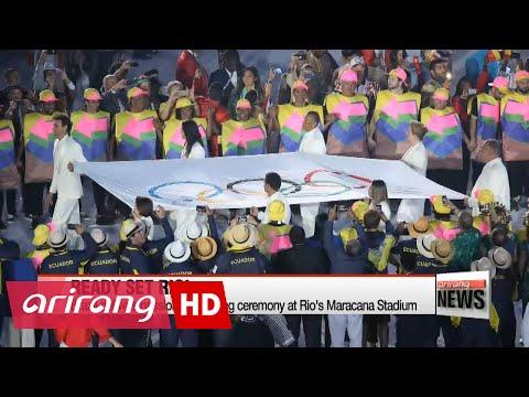 EARLY EDITION 18:00 2016 Rio Olympics open with bang at Maracana Stadium