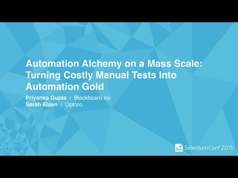 Automation Alchemy on a Mass Scale: Turning Costly Manual Tests Into Automation Gold